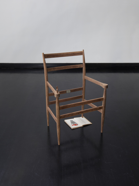 Edgar Orlaineta, 'Handchair', 2018, Federico Luger (FL GALLERY)