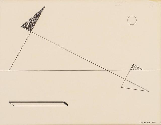 Luigi Veronesi, 'Senza Titolo', 1940, Itineris