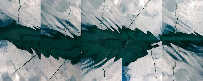 The Fragmented Sea of Alaska Pole