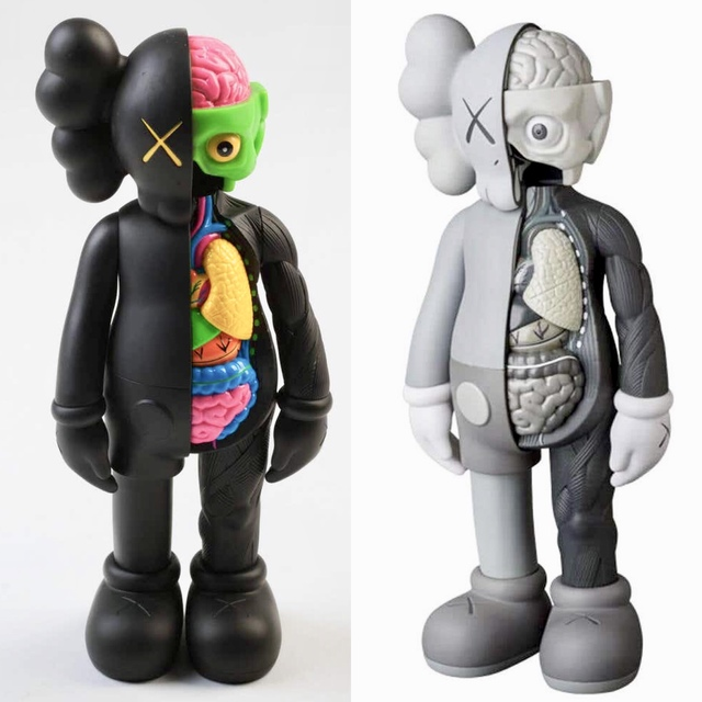 KAWS, 'KAWS Companion 2016: set of 2 flayed companions', 2016, Lot 180
