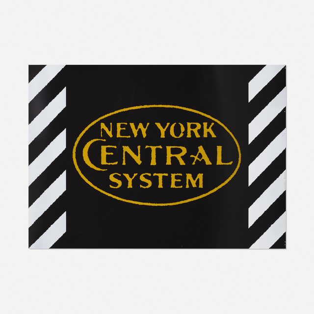 Robert Cottingham, 'New York Central System', 1987, Wright