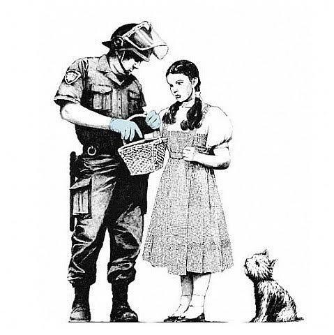 , 'Stop & Search,' 2007, Robin Rile Fine Art