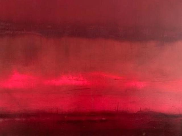 , ''Falling Red', from 'Somewhere Between Two Worlds' series ,' 2019, Tanya Baxter Contemporary