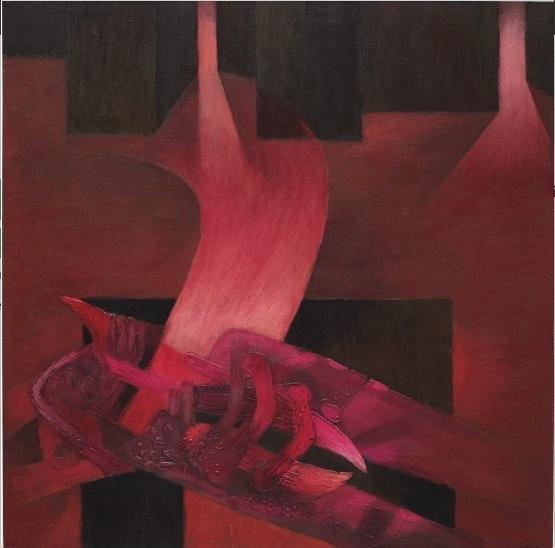 , 'Mesa ritual,' 1986, Fernando Pradilla/El Museo