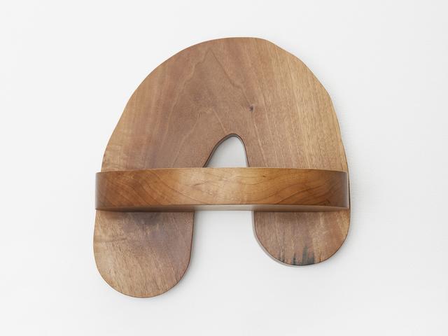 , 'Hard Round Wall Shelf,' 2017, Patrick Parrish Gallery