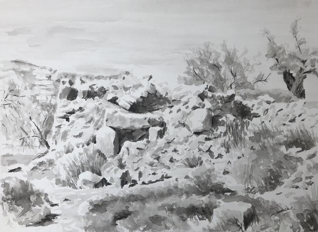 , 'Ruin, Wad Al-Shami,' 2014, Zawyeh Gallery