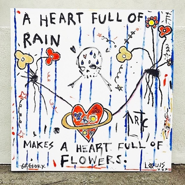 , 'Heart Full of Rain Makes Flowers,' 2017, Bruce Lurie Gallery