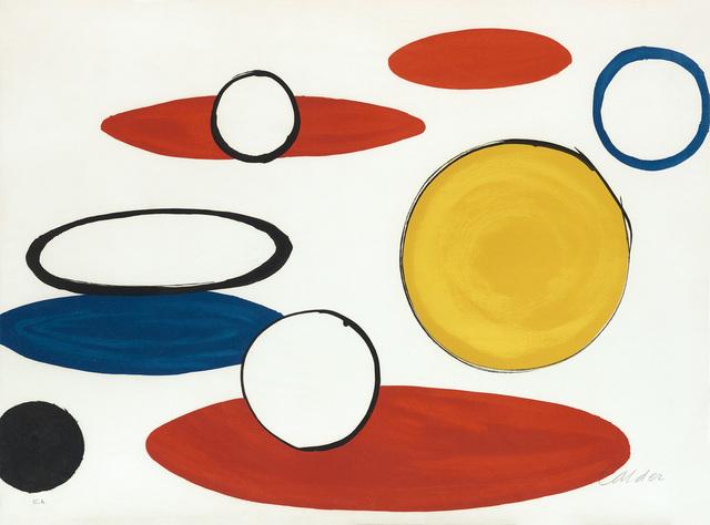 Alexander Calder, 'Circles', 1975-76, Swann Auction Galleries