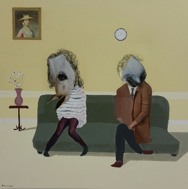 Bastiaan van Stenis, 'Lets not show our faces until the very end', 2019, WORLDART
