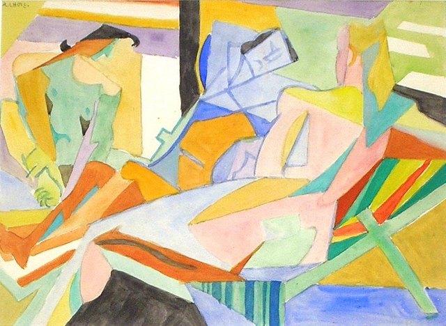 André Lhote, 'La Plage', 1957, Nicholas Gallery