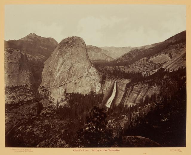 , 'Cloud's Rest, Valley of the Yosemite (No. 40),' 1872, Clark Art Institute