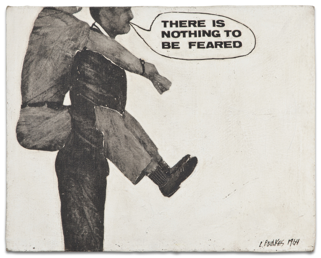 , 'Untitled (There is nothing to be feared),' 1964, Kohn Gallery