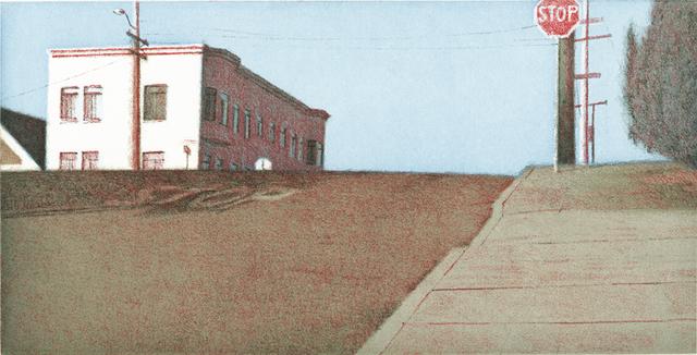 , 'Potrero Intersection–Blue Sky,' 2002, Crown Point Press