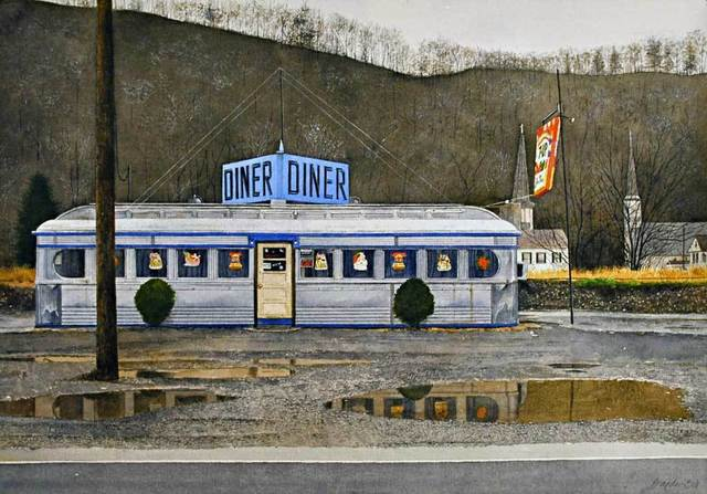 , 'Jim's Diner,' , Jonathan Novak Contemporary Art