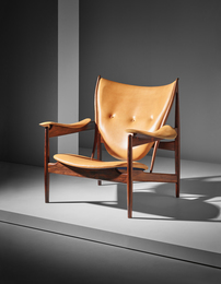 Finn Juhl, 'Early and rare 'Chieftain' armchair, model no. FJ 49 A,' ca. 1950, Phillips: 20th Century & Contemporary Art & Design Evening Sale