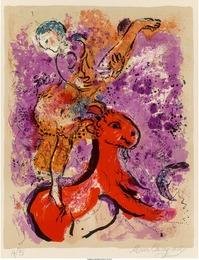 L'écuyère au cheval rouge