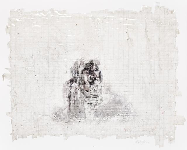, 'Sticky-tape Transfer 35 - Hermanus,' 2017, Goodman Gallery