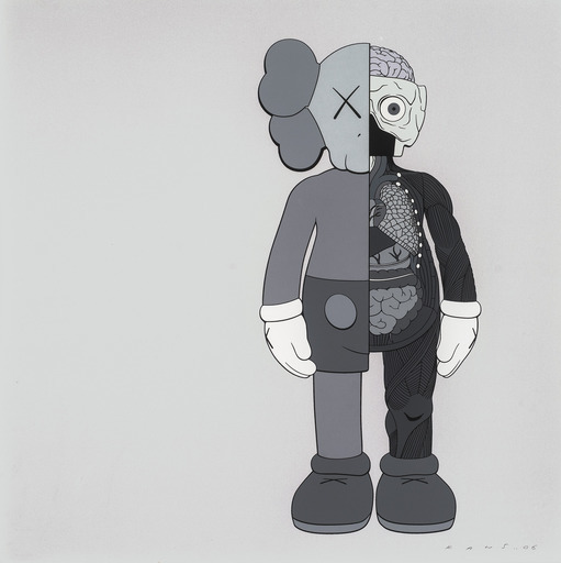 KAWS, 'Dissected Companion (Grey)', 2006, Gin Huang Gallery
