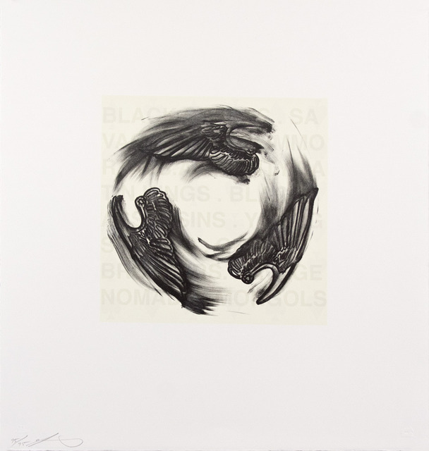 , 'Tri-wing Spin,' 2005, Tamarind Institute
