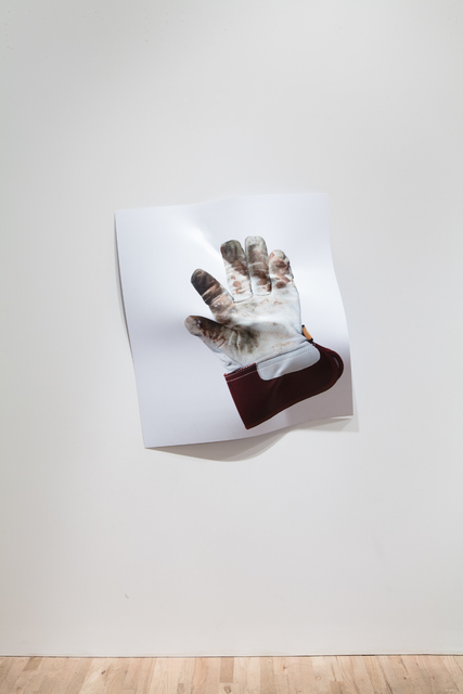 , 'Agreement #2 (Leather Glove),' 2014, Postmasters Gallery