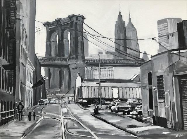Angela Wakefield, 'Brooklyn Bridge, New York City', 2014, Ascot Studios
