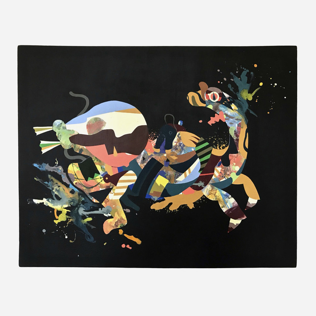 Tomokazu Matsuyama, 'Kirin ver. Black 5', 2008-09, Painting, Acrylic on canvas, Artsy x Rago/Wright