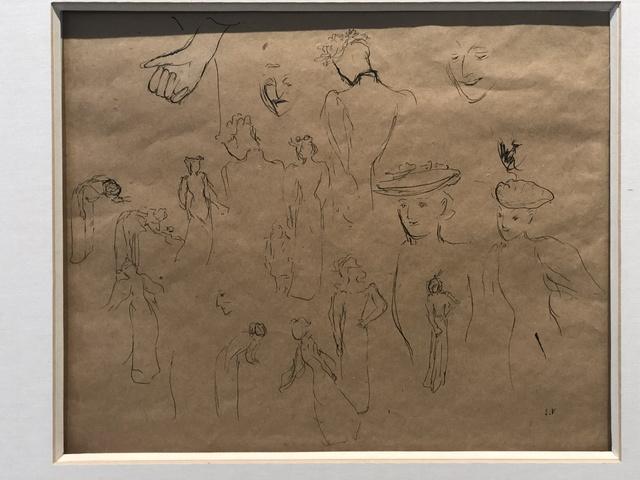 Édouard Vuillard, 'Etude de femmes', ca. 1890, Anders Wahlstedt Fine Art