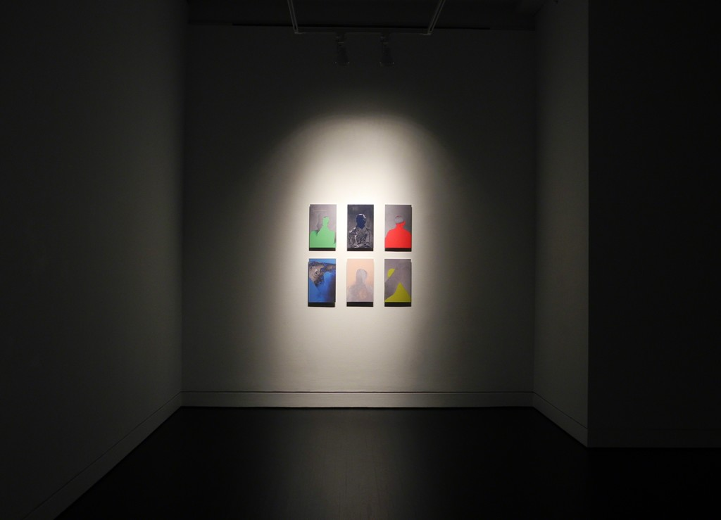 Installation view of James Huckenpahler.