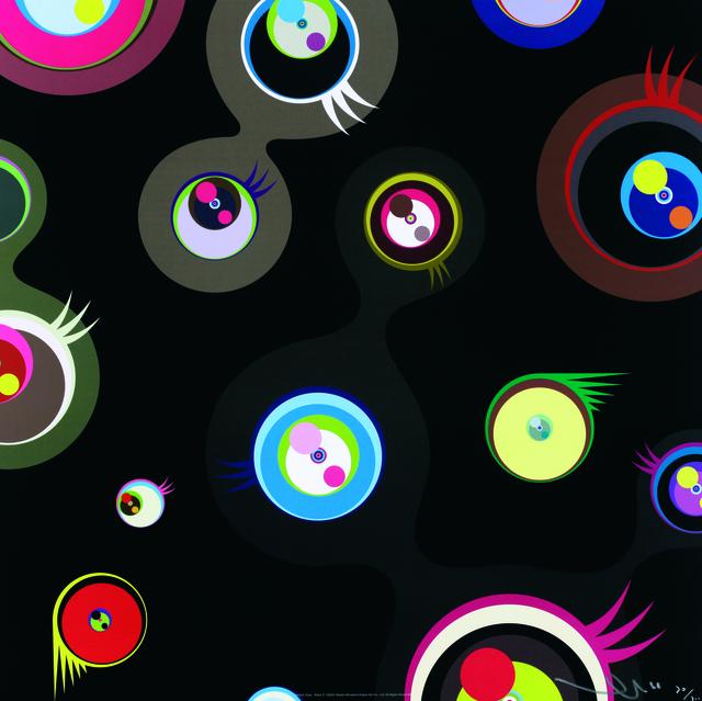 , 'Jellyfish Eyes - Black 2,' 2004, Galerie Raphael
