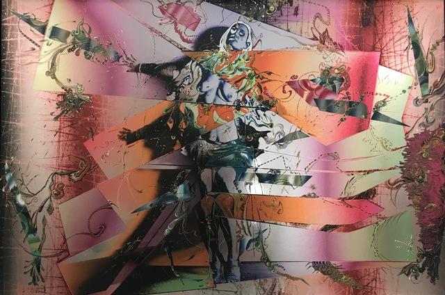 Gegam Kacherian, 'Duality', 2016, Painting, Acrylic and UV coated ink on Mylar, Tufenkian Fine Arts