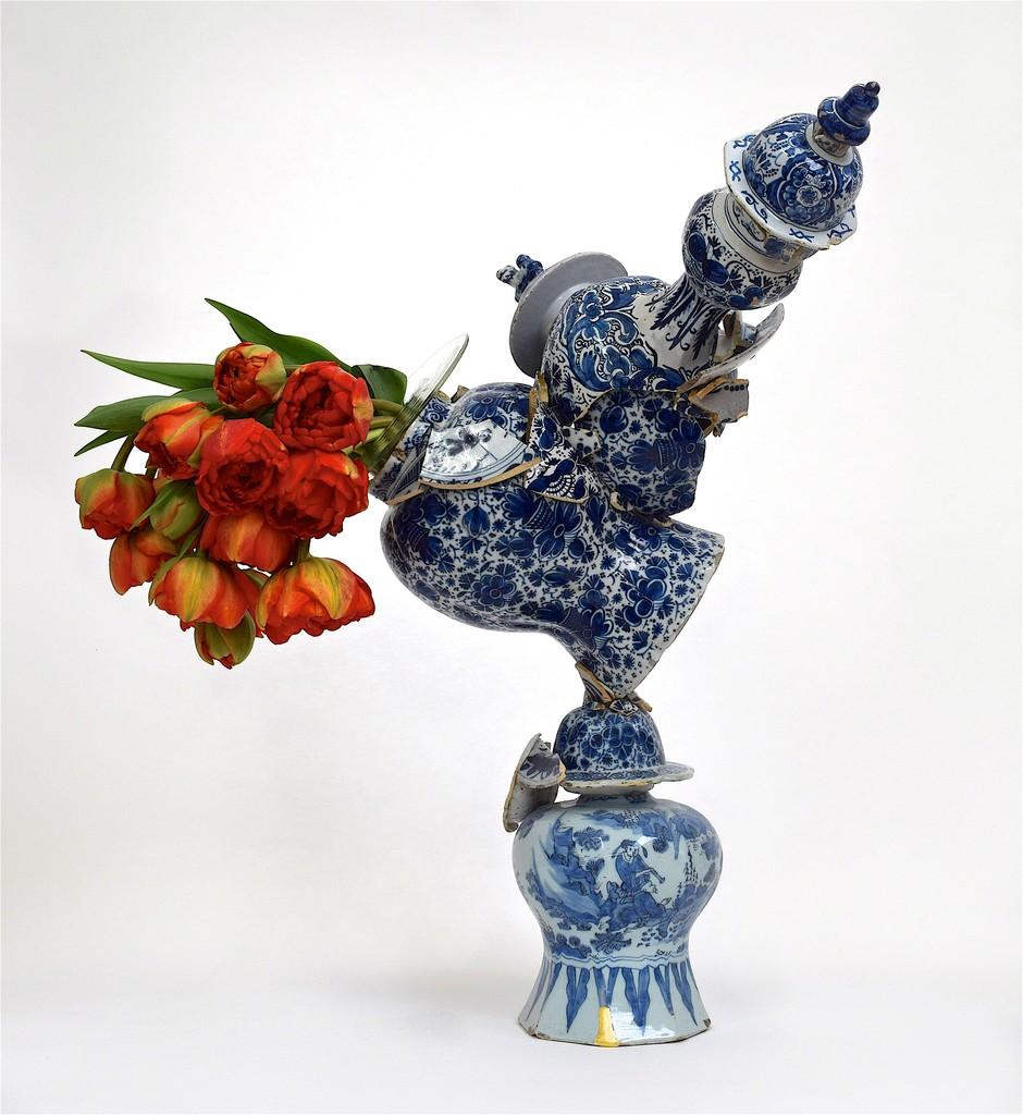 Bourke de Vries Fragmented vase