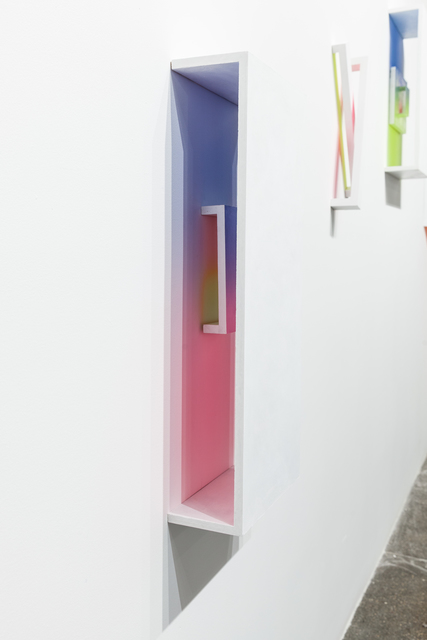 , 'Pink/Blue & Yellow/Pink_Fade with Baby Fade (combo),' 2017, Ki Smith Gallery