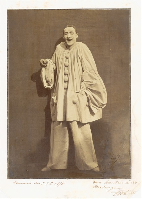 Adrien Tournachon, 'Pierrot Laughing', 1855, The Metropolitan Museum of Art