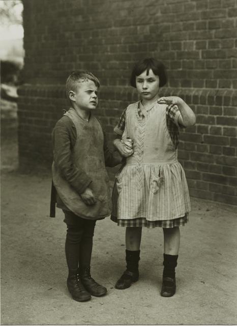 , 'Children Born Blind,' ca. 1930, Galerie Julian Sander