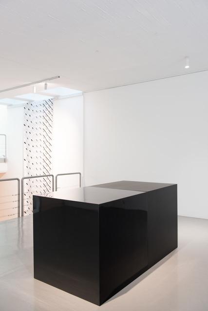, 'Black Cubes (2),' 2000, PRISKA PASQUER