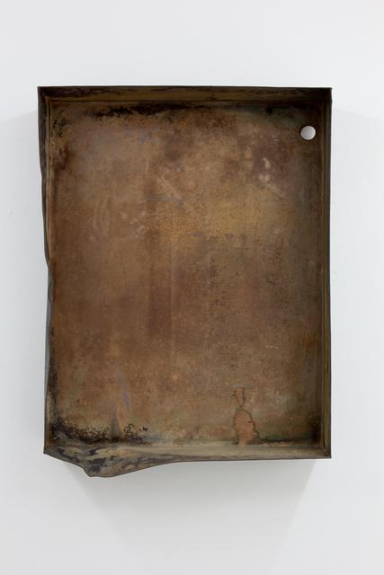 , 'Kellerfalte,' 2016, Meyer Riegger