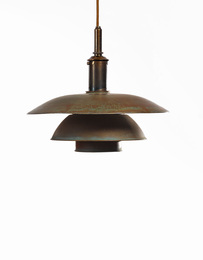 Poul Henningsen, 'Pendant Lamp, Shade PH 4/4,' circa 1928, Sotheby's: Important Design