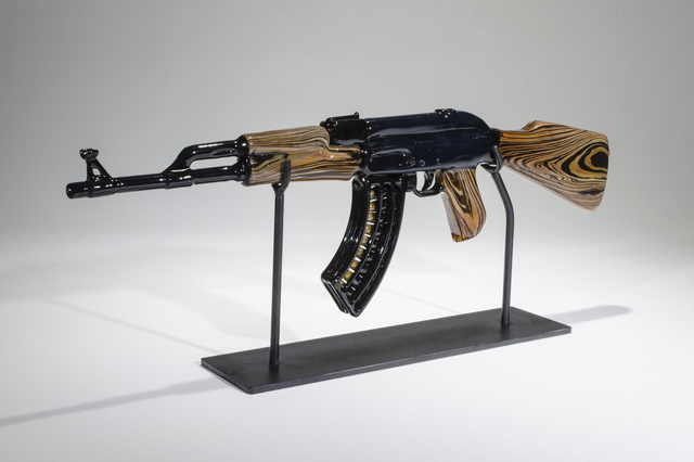 , 'Wood Grain AK47,' , Ruckus Gallery