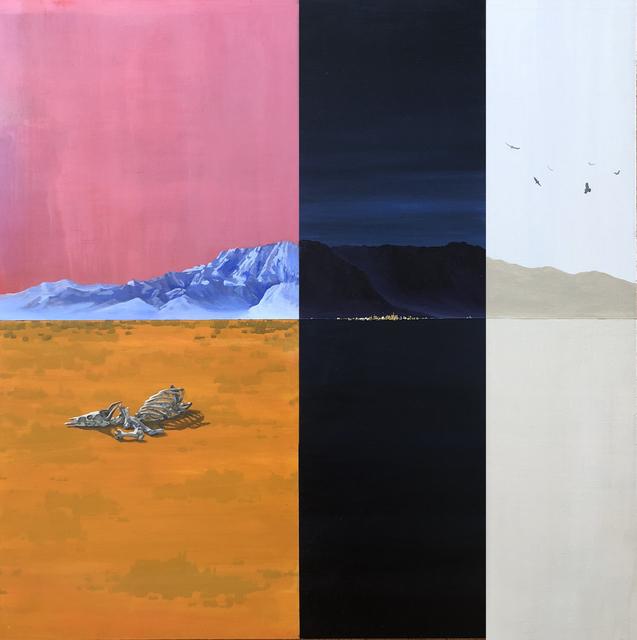 Holly Elander, 'Circle', 2019, Painting, Acrylic on panel, LAUNCH LA