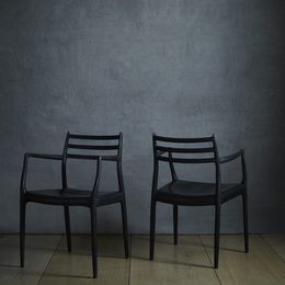dining chairs, pair