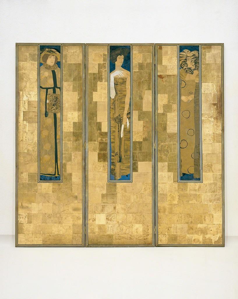 Koloman Moser, Screen, 1906 Execution: Karl Beitel, Therese Trethan © MAK/Georg Mayer