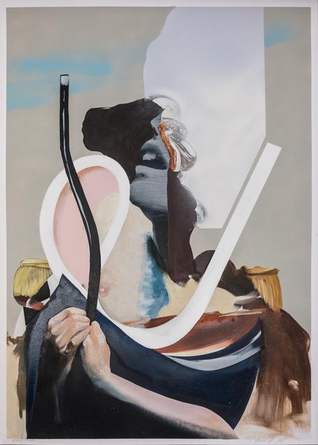 , 'Eskimo Kisses,' 2017, heliumcowboy