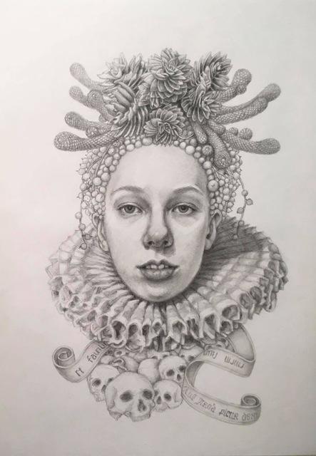 Chikako Okada, 'Infanta Soledad', 2019, Andra Norris Gallery