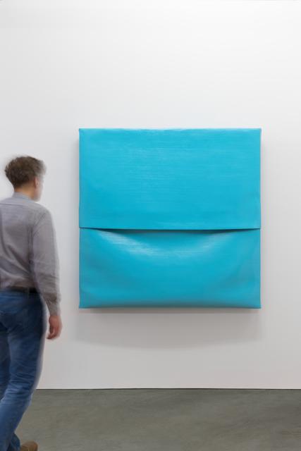 , 'Concrete Canvas (Light Blue),' 2017, Galerie Thomas Schulte