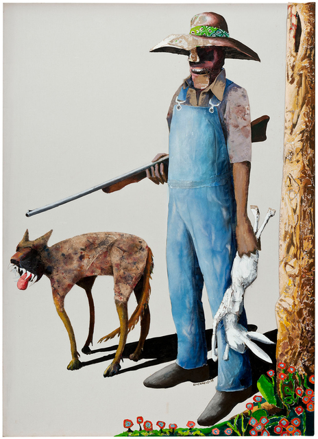 , 'Hunters,' 1989, Michael Rosenfeld Gallery