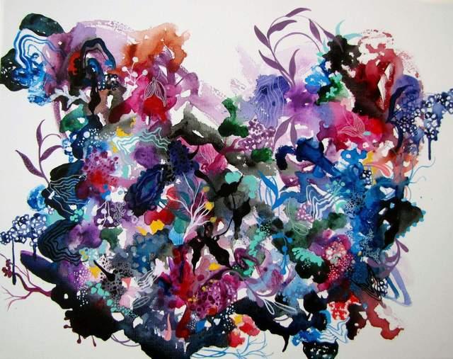 , 'Violet Island ,' , Ro2 Art