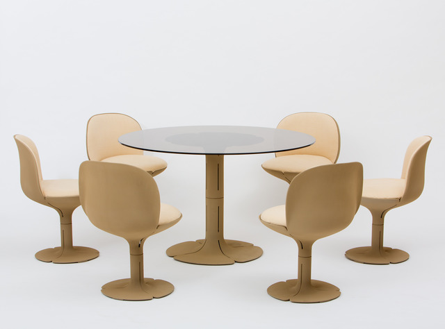 , 'Élysée Dining Suite with 6 Chairs,' 1971, Demisch Danant