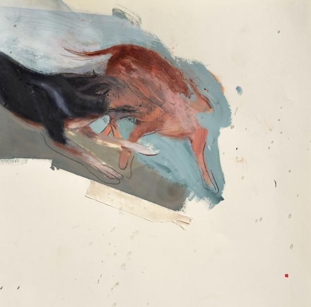 , 'Dog Park,' 2017, Robert Kananaj Gallery