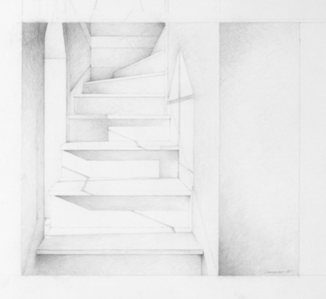 , 'Tower Stairs (drawing),' 2014, Odon Wagner Contemporary