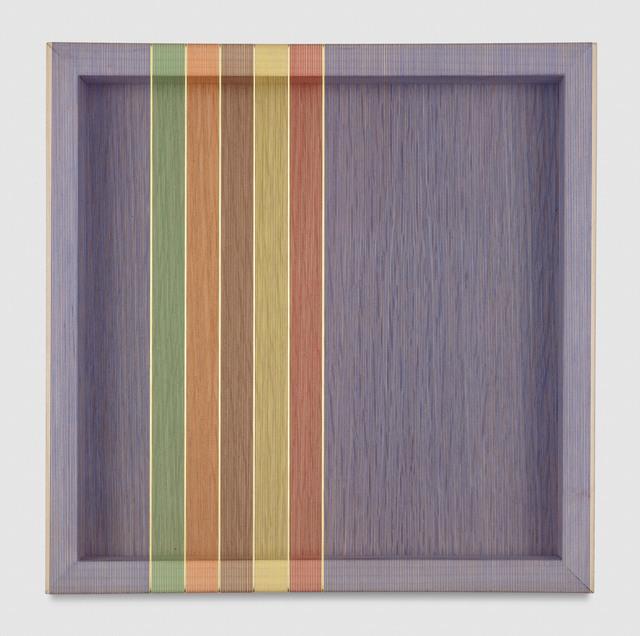, 'Untitled (Blue Hovering Thread),' 2017, PRAZ-DELAVALLADE